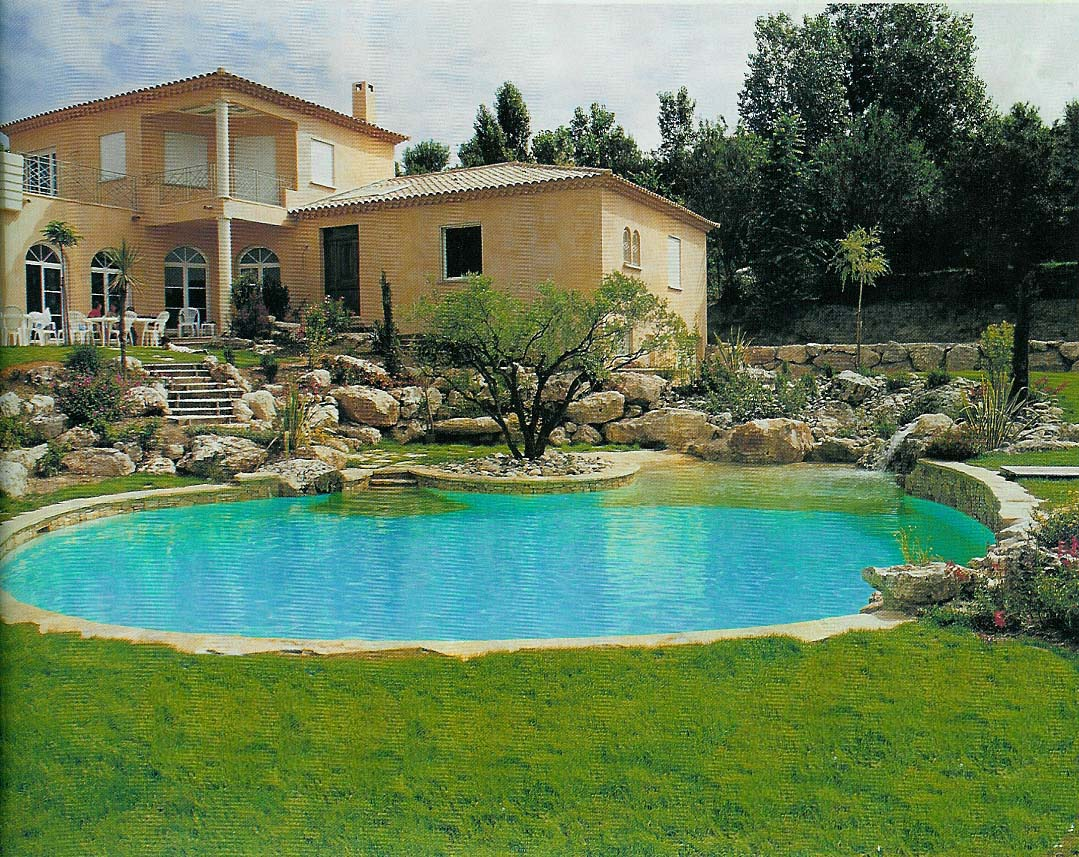 Piscines traditionnelles de oro for Construction piscine 19